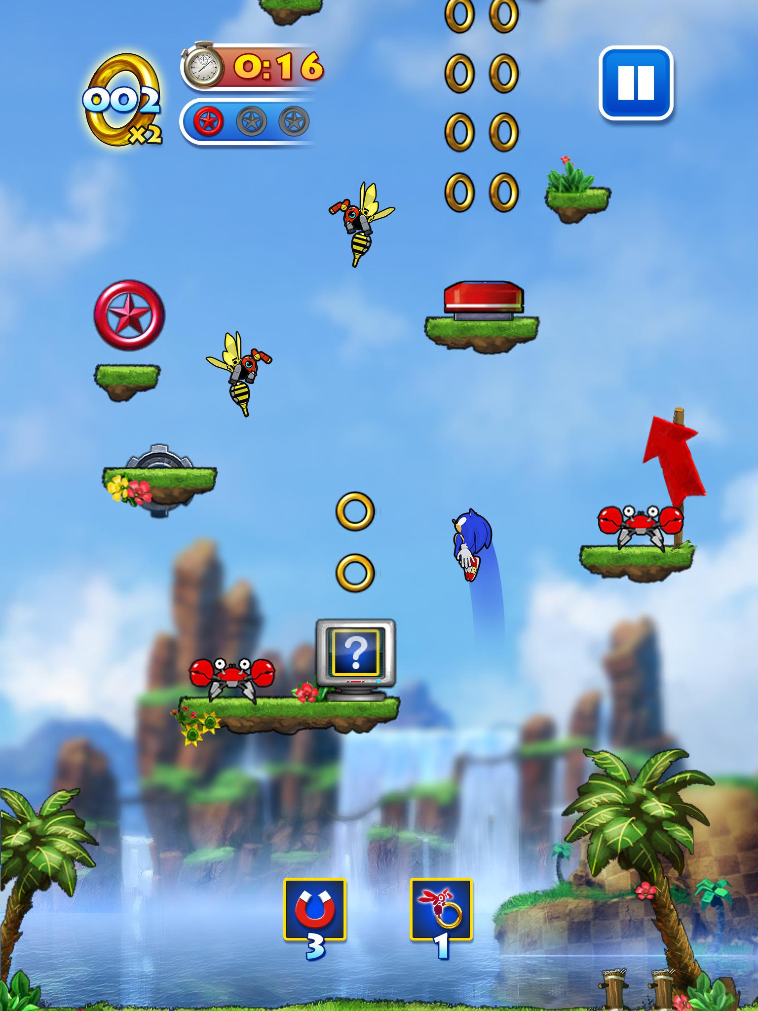 Sonic Jump™   SEGA