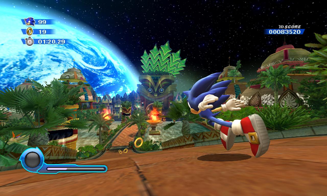 O jogo original já era bonito, dadas as limitações das plataformas em que foi lançado. Difícil deixar o visual do estiloso ouriço ruim, não é mesmo?