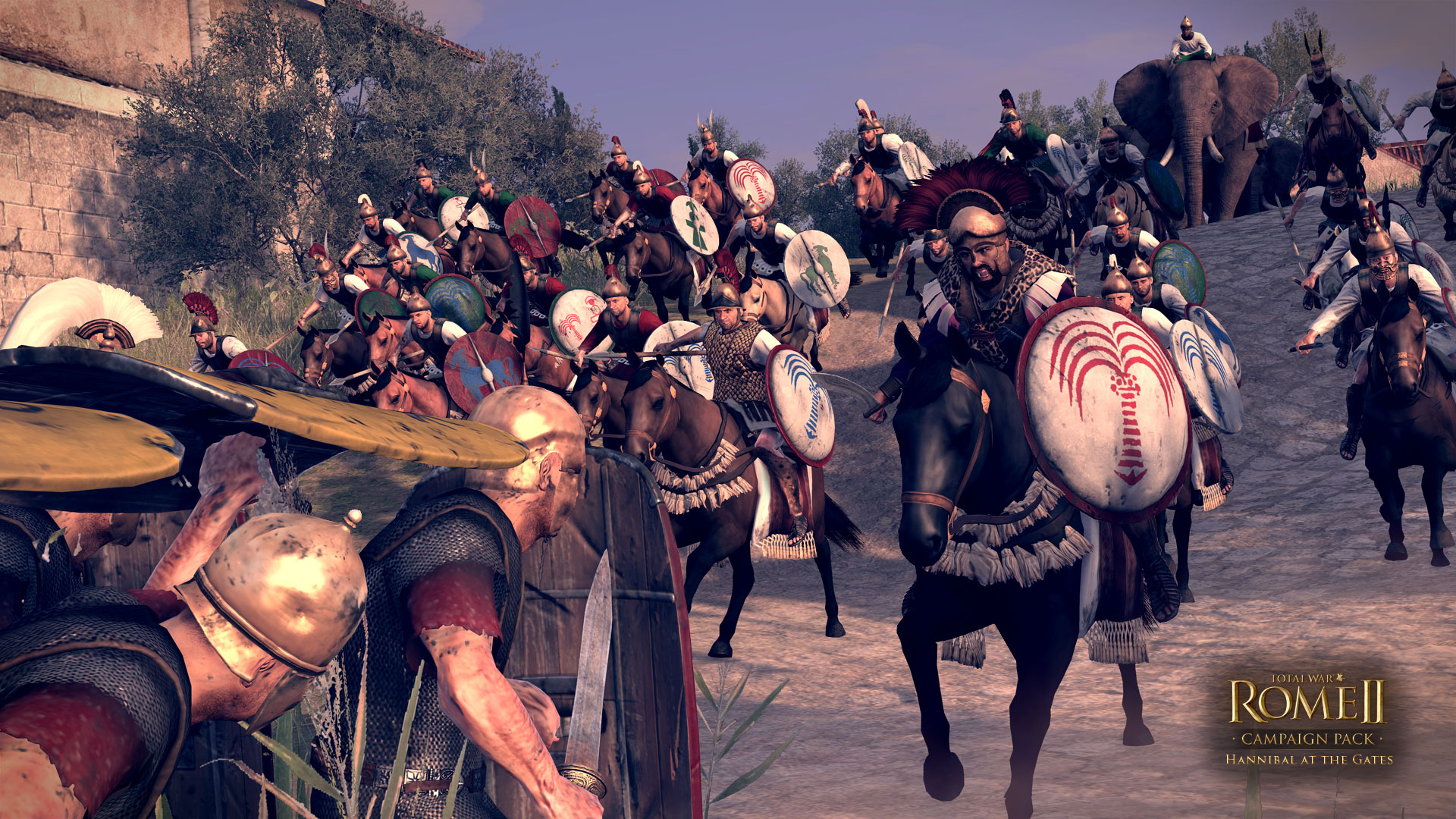 total war rome ii - hannibal at the gates скачать